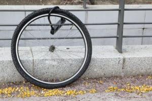 Fahrraddiebstahl - Teildiebstahl
